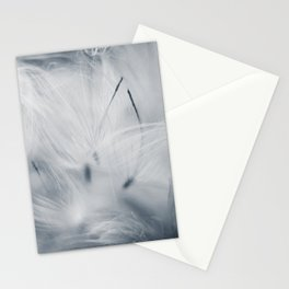 Milkweed abstract Stationery Cards