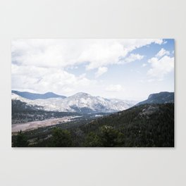 Majestic View Canvas Print