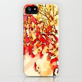 gypsophila abstract iPhone Case