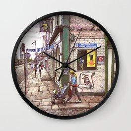 Ireland street Wall Clock