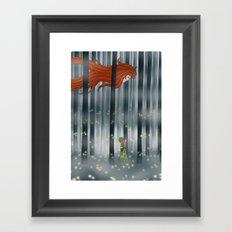 À force de Framed Art Print