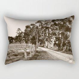 On The Road Rectangular Pillow