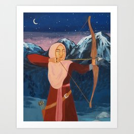 The Archer Art Print