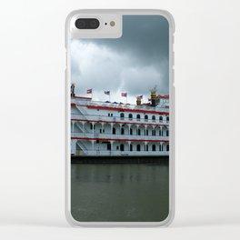 Georgia Queen Clear iPhone Case