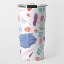 Watercolor Mess Travel Mug