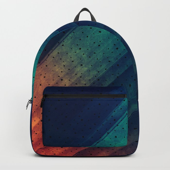 Escape Reality Abstract Print Backpack