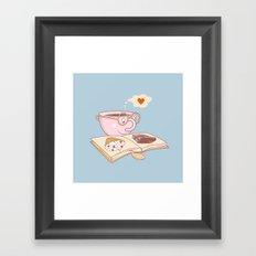 taste of love Framed Art Print