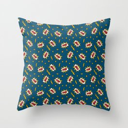 Pow Comic Sound Effect Throw Pillow