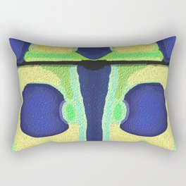 Design from Beetle #1 Rectangular Pillow