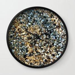 Beach Shell Sand Wall Clock