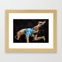 Best seat in the house. Framed Art Print