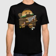 The Dad Burger Black Mens Fitted Tee X-LARGE