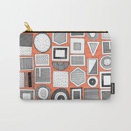frisson memphis bw orange Carry-All Pouch