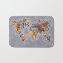 world map 111 #worldmap #world #map Bath Mat
