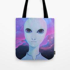 Alien - Extraterrestrial Biological Entity #1 (EBE#1) Tote Bag