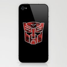 Autobots in flames - Transformers iPhone & iPod Skin