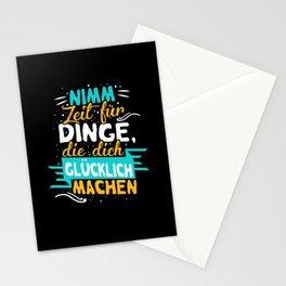 Dich Glücklich Machen - Gift Stationery Cards