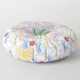 Wagamuffin Loose Leash Floor Pillow