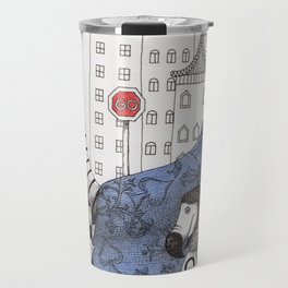 William the Conqueror and the 9 Feet Tall Caucus Race Travel Mug