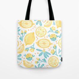 Lemons, Lemons Everywhere Tote Bag