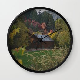 Nature Mountain Landscape Wall Clock