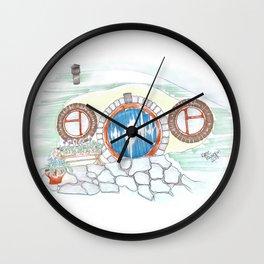 Dugout Wall Clock