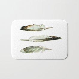 Shore Bird Feathers Bath Mat