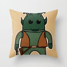 Greedo Throw Pillow
