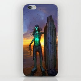 Toxic Surfer iPhone Skin