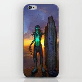 Toxic Surfer iPhone Skin