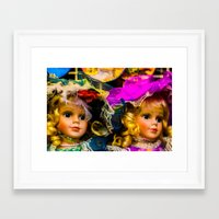 snatch Framed Art Prints featuring Doll Snatch by 238media