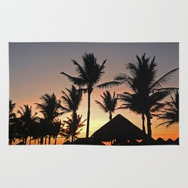 Caribbean Sunset Rug