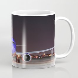 Face To Face with a Southwest Airlines Boeing 737-700 Coffee Mug