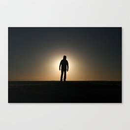 SpaceJump Canvas Print