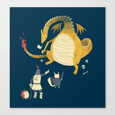 ye hath to catcheth them all. Canvas Print