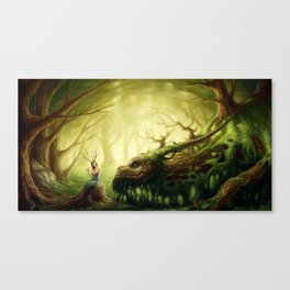 """Forgotten Fairytales"" Canvas Print"