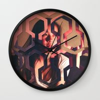 shining Wall Clocks featuring Shining by Joshua Lew