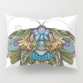 Botanical Butterfly No. 1 Pillow Sham