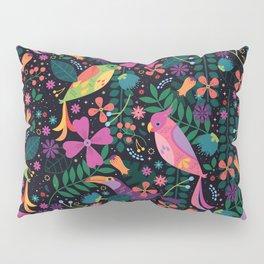 Enchanted Tiki Birds Pillow Sham