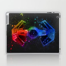 Vader's TIE Fighter Splash Painting Laptop & iPad Skin