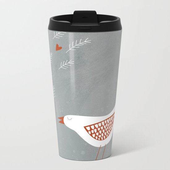 La la la Metal Travel Mug