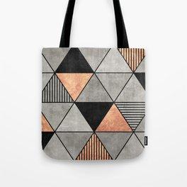 Concrete and Copper Triangles 2 Tote Bag