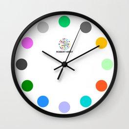 Robert Hirst Spot Clock 8 Wall Clock