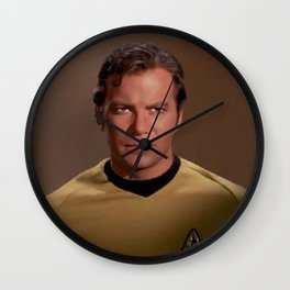 William Shatner, Actor Wall Clock