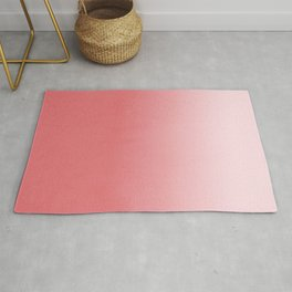 Ombre fade pastel trendy color way throwback retro palette 80s 90s style Rug