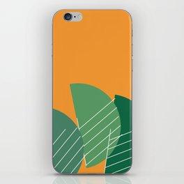 Banana Leaf #geometric #decor #society6 iPhone Skin