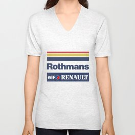 Williams F1 Rothmans Ayrton Senna Unisex V-Neck