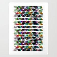 ∆ VII Art Print