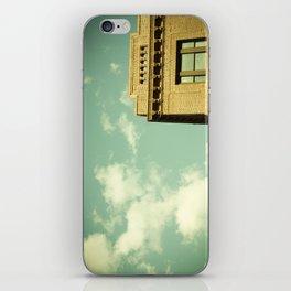 Green Skies iPhone Skin