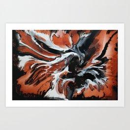 Copper Fox Art Print